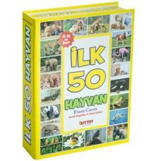 Diytoy İlk 50 Hayvan Flash Kartlar
