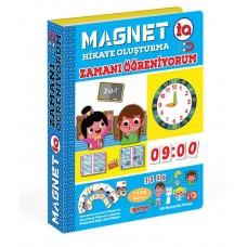 DiyToy Magnet IQ Zamanı Öğreniyorum