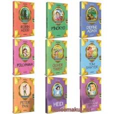Dünya Çocuk Klasikleri Seti (9 Kitap)