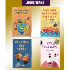 Jules Verne Seti (4Kitap)
