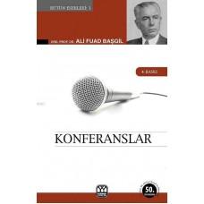 Konferanslar; Hukukun Ana Meseleleri ve Müesseseleri