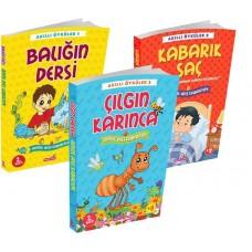 Akıllı Öyküler 3 Kitaplık Set1