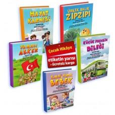 5 Adet Çocuk Hikâye Kitabı (İlknur Işık)